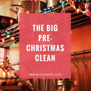 The big pre-Christmas clean, decluttering tips, cleaning tips
