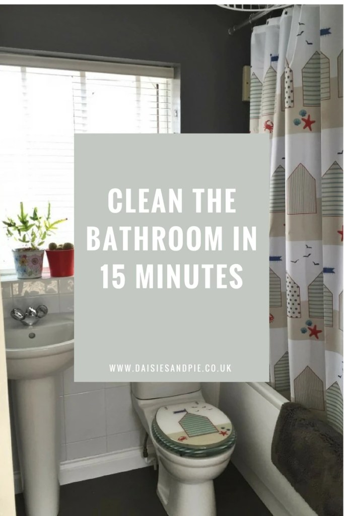 How to clean your bathroom in 15 minutes