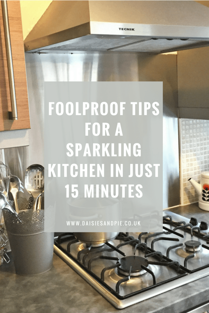Foolproof Tips for a Sparkling Kitchen in Just 15 Minutes
