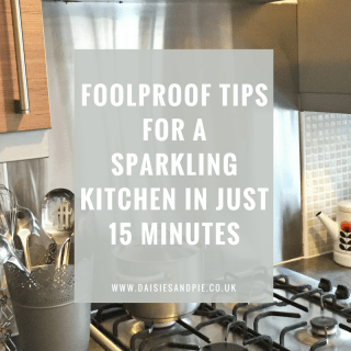 Foolproof cleaning tips for a sparkling kitchen in just 15 minutes!
