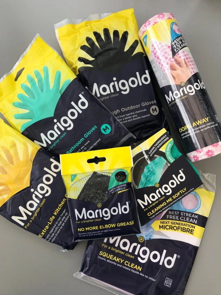 70 years of Marigold cleaning products, home cleaning essentials