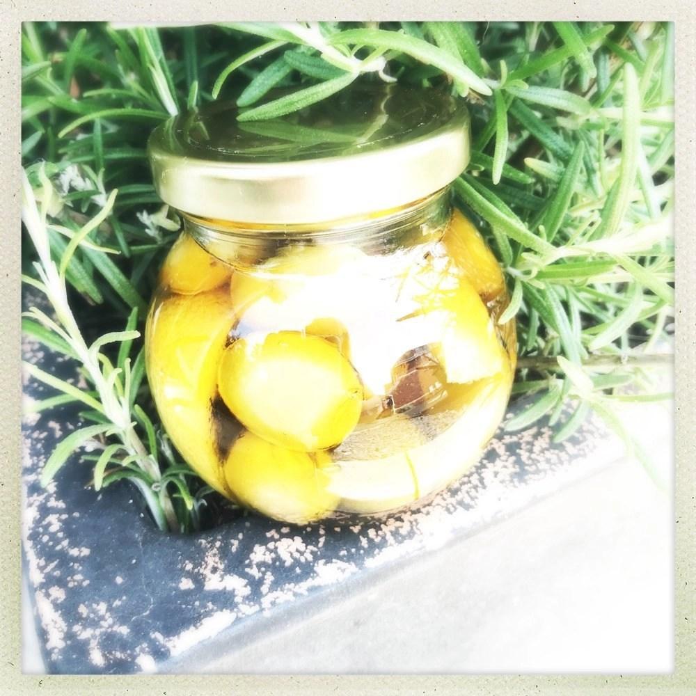Lemon and Rosemary Marinated Olives
