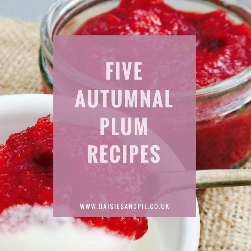 Five Delicious Plum Recipes