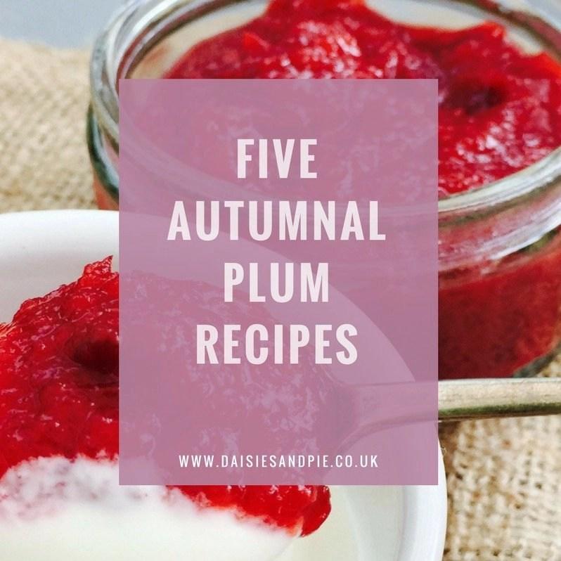 Five Delicious Plum Recipes