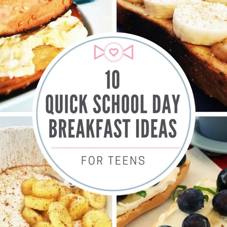Quick School Day Breakfasts for Teens