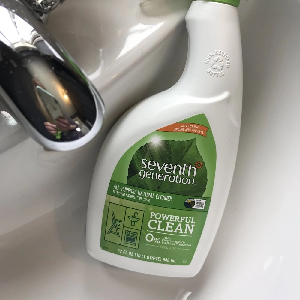 seventh generation all purpose surface cleaner review UK, green cleaning tips