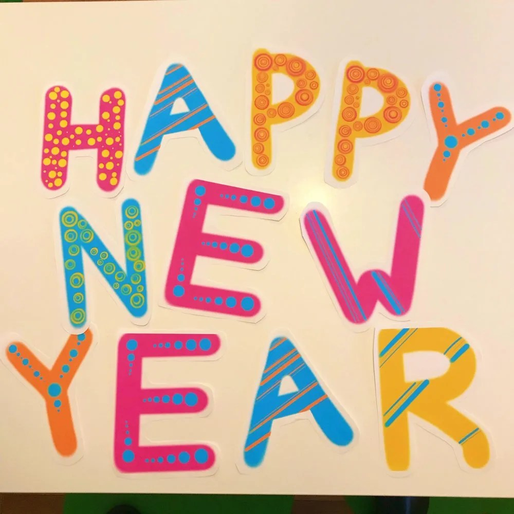 Free Printable Happy New Year Banner