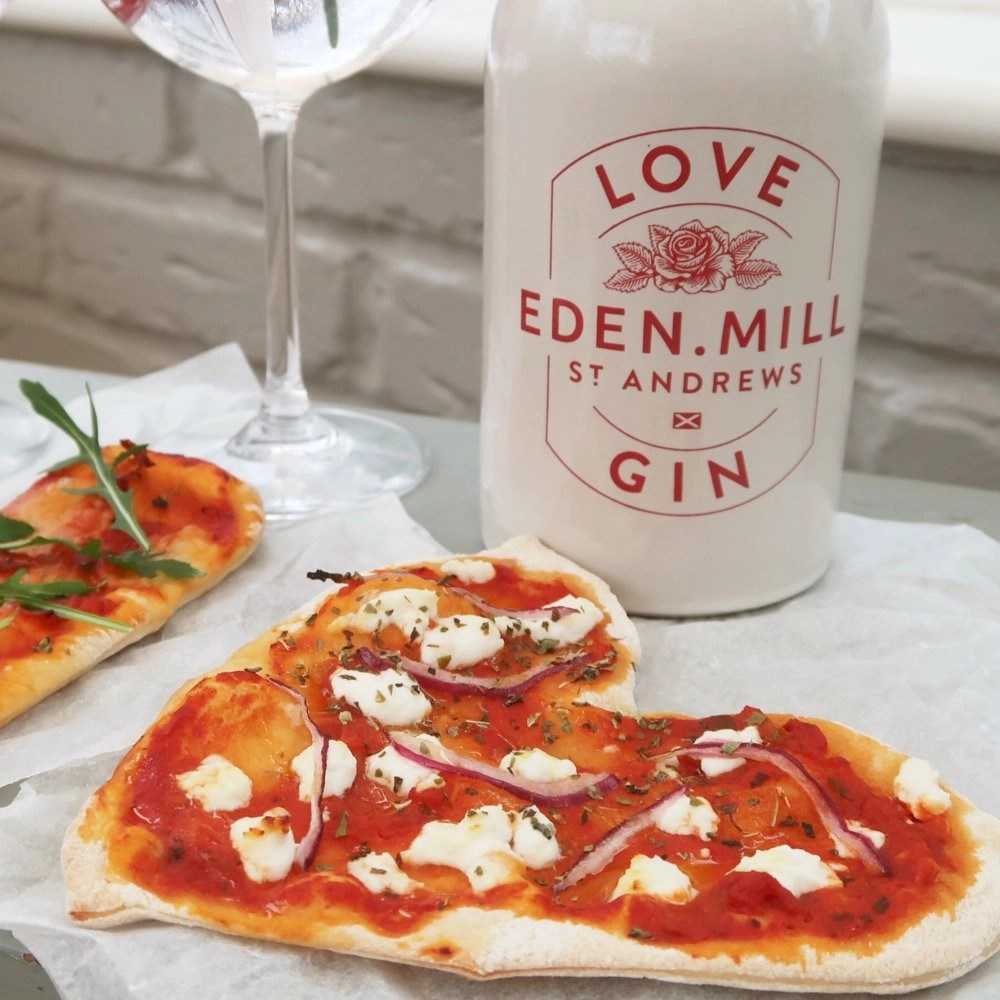 Love = Gin + Pizza