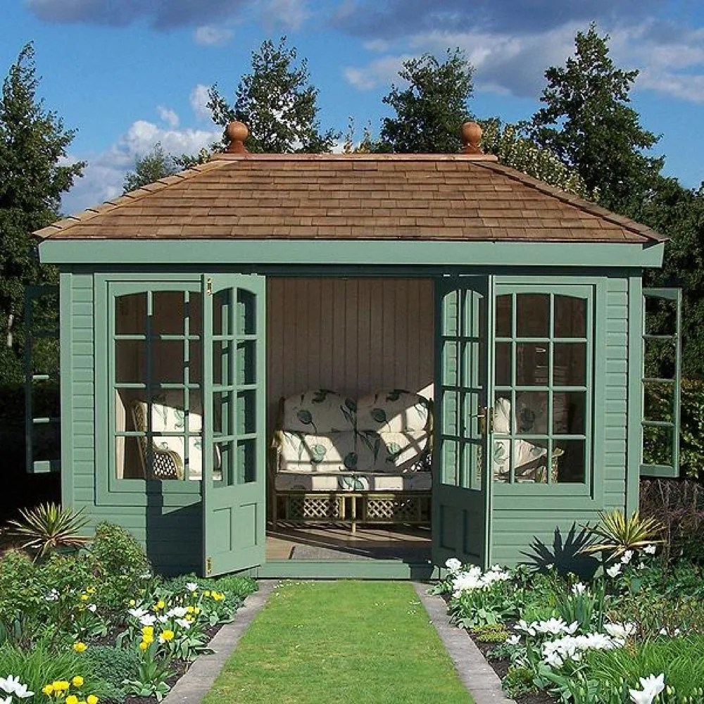 Make the most of your outdoor space with a garden room