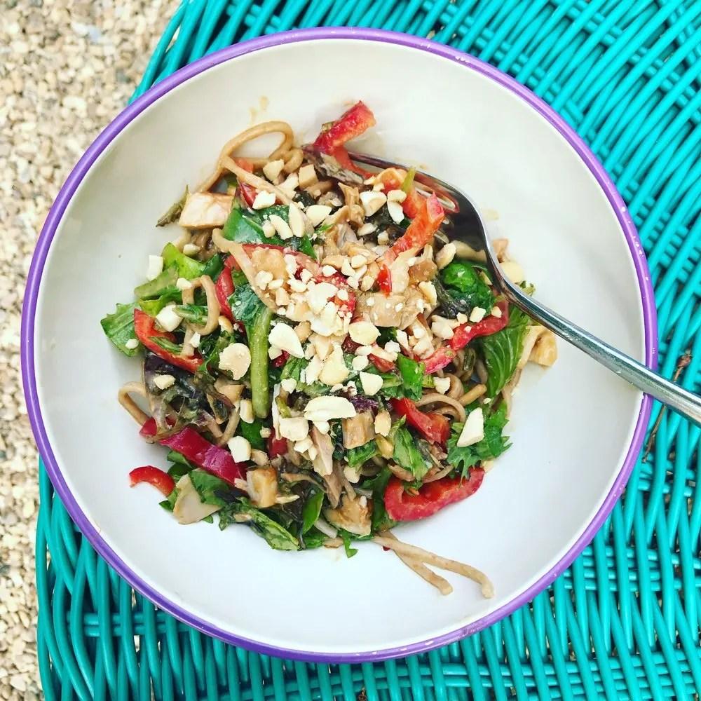 Lunch Box Noodle Salad