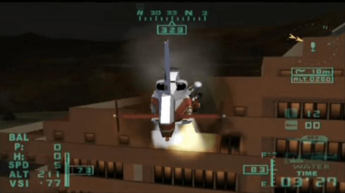 レスキューヘリエアレンジャー2プラスミッション5