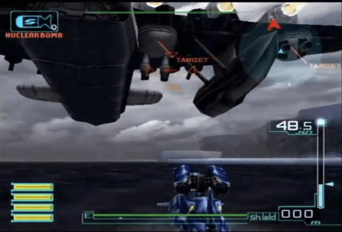 -U- underwater unit空中爆撃1
