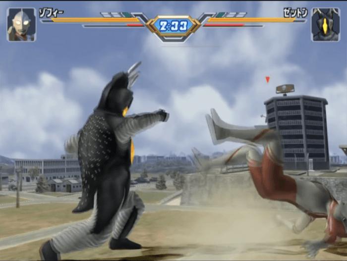 ウルトラマン Fighting Evolution 3ダウン