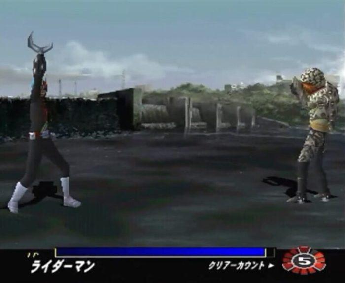 「仮面ライダーV3」戦闘2
