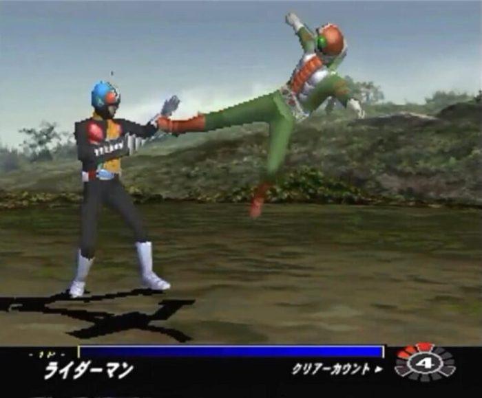 「仮面ライダーV3」戦闘3