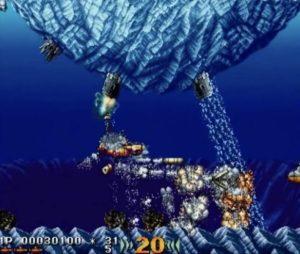 「海底大戦争」ステージ1-2