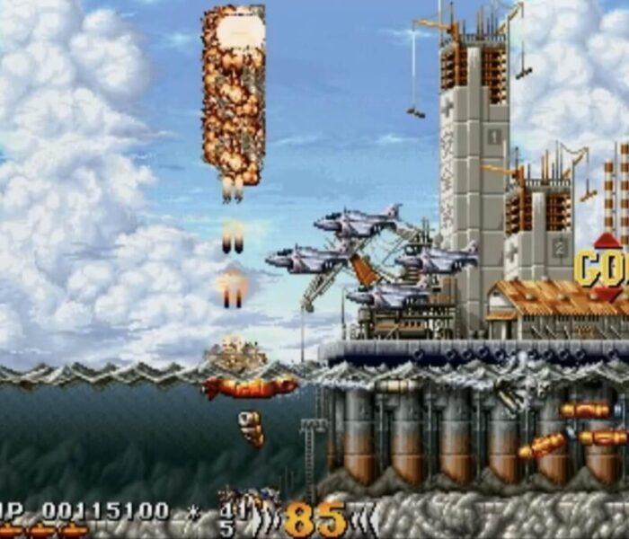 「海底大戦争」ステージ2-1