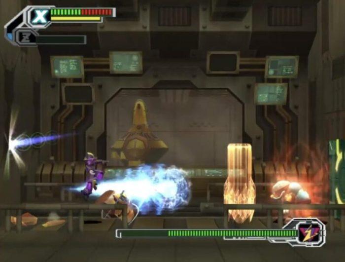 「ロックマンX8」ボス1