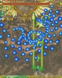 「エスプガルーダ」ステージ1-1ボス