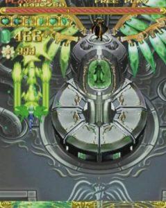 「エスプガルーダ」ステージ5-2-1ボス