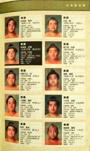 「日本相撲協曾公認 日本大相撲 本場所激闘編」キャラクター4