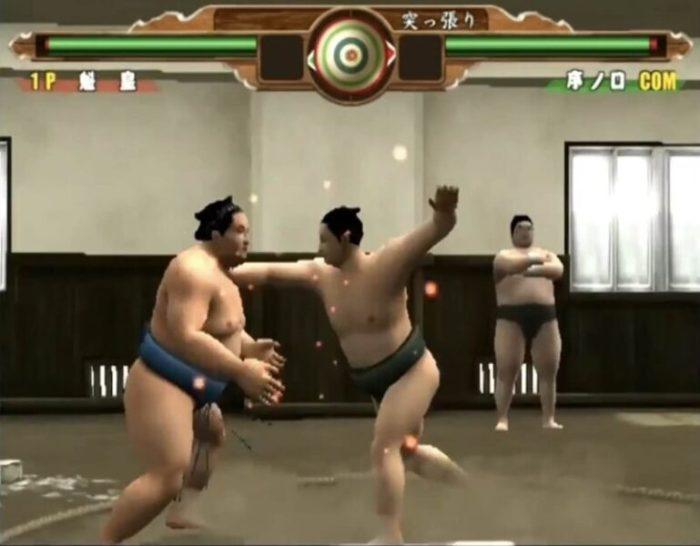 「日本相撲協曾公認 日本大相撲 本場所激闘編」練習モード6
