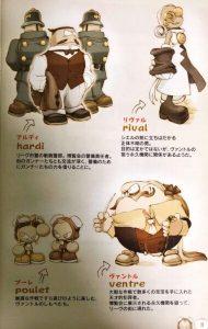 「スカイガンナー」キャラクター2