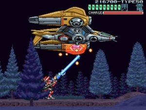 「ウルフファング 空牙2001」ミッション3-Bボス