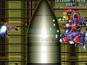 「ウルフファング 空牙2001」ミッション5-Cボス