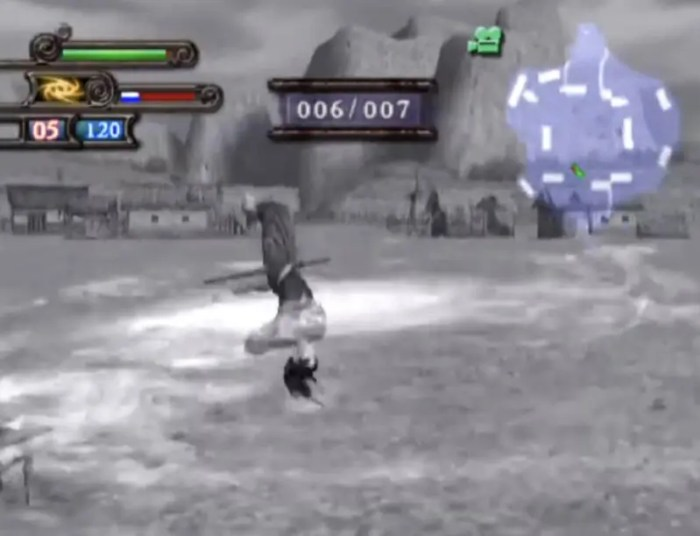 「どろろ(PS2版)」バトル3