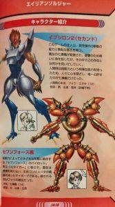 「エイリアンソルジャー」キャラクター1