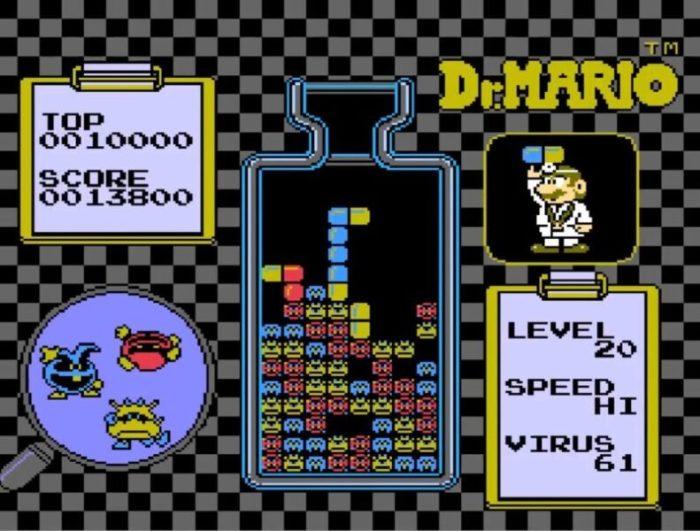 「ドクターマリオ」パズル4