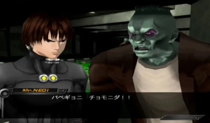 「GANTZ THE GAME」会話11