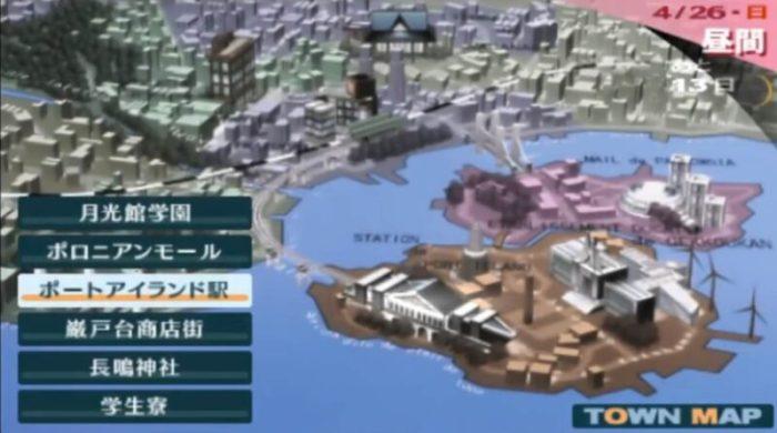 「ペルソナ3」マップ5