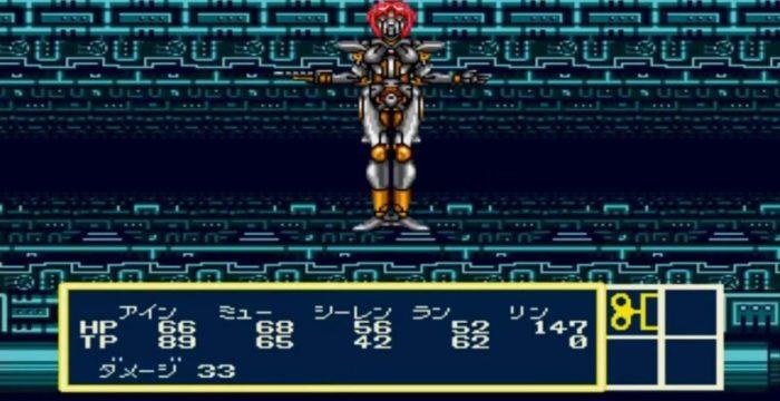 「時の継承者 ファンタシースター3」バトル3