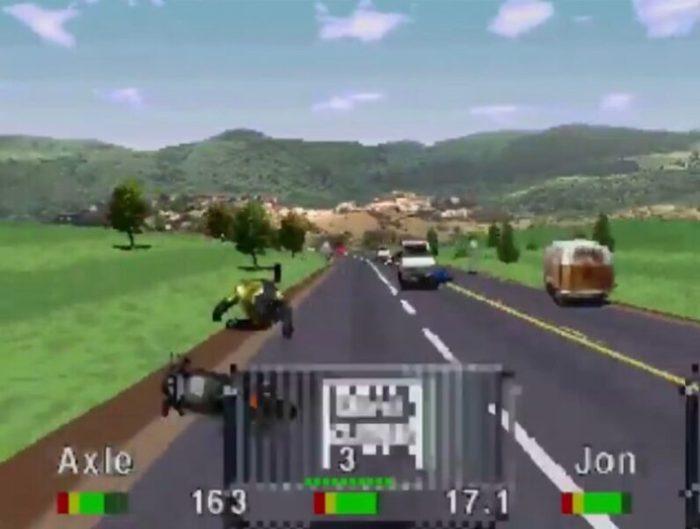 「ロードラッシュ」レース11