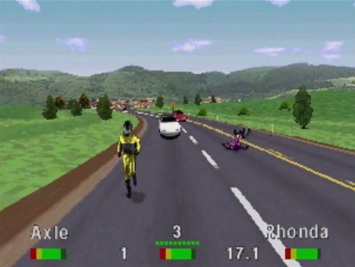 「ロードラッシュ」レース12