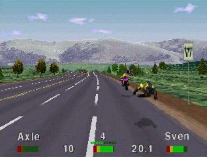 「ロードラッシュ」レース18