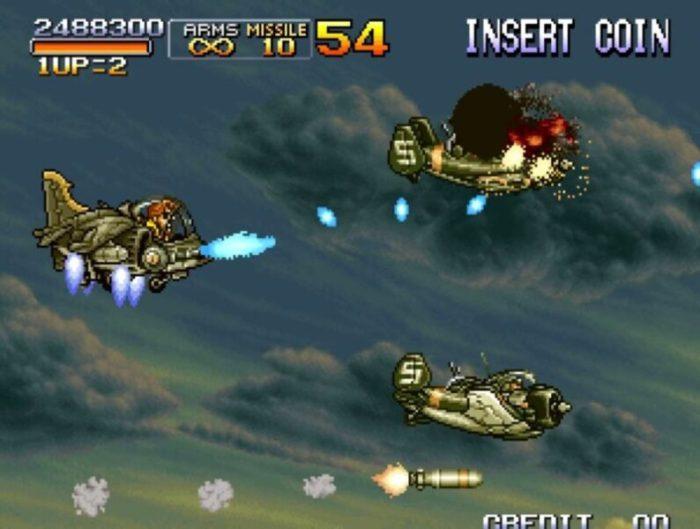 「メタルスラッグ3」ミッション5-2