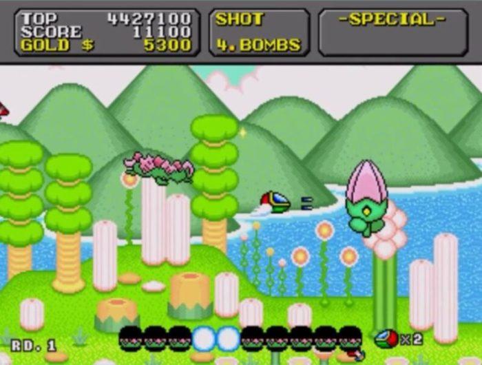 「スーパーファンタジーゾーン」ステージ1-2