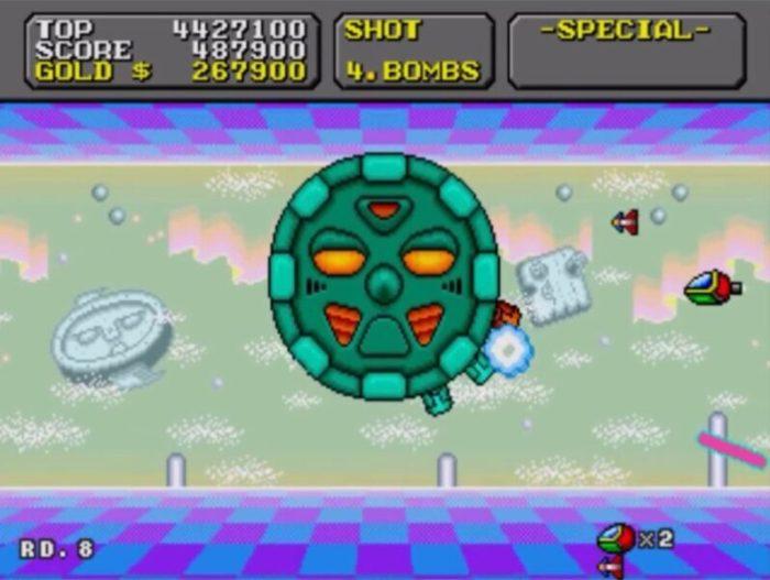 「スーパーファンタジーゾーン」ステージ8-3