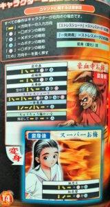 「真・豪血寺一族 煩悩解放」キャラクター1