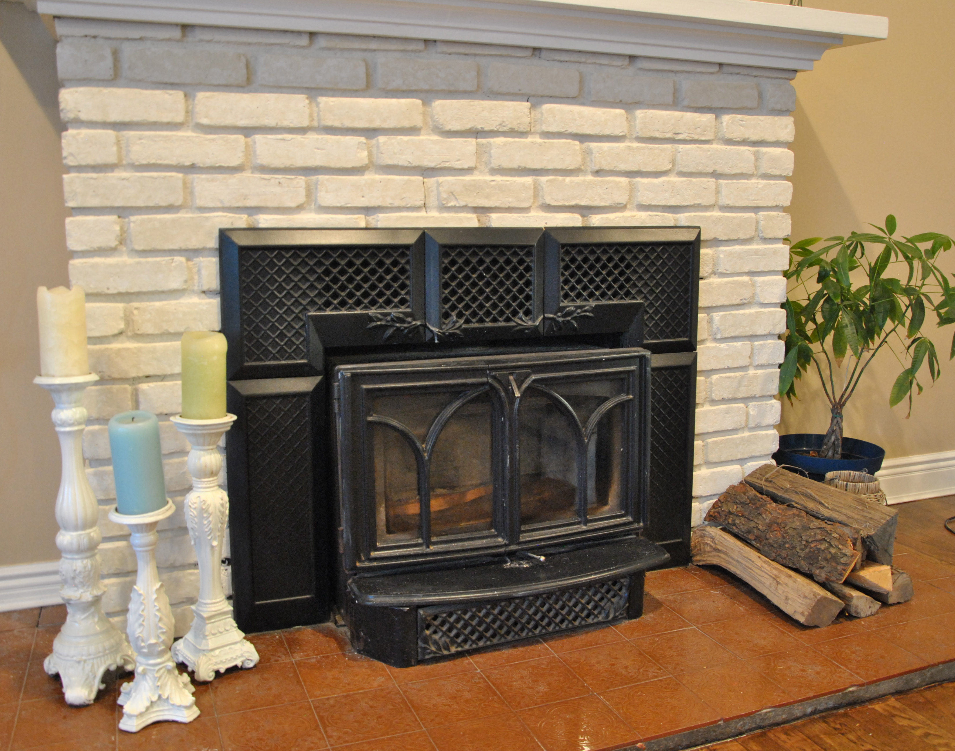 Fireplace Makeover  The Good The Bad The Ugly  Daisy