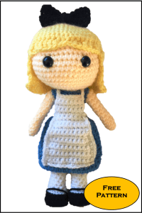 Alice in Wonderland Free Amigurumi Pattern