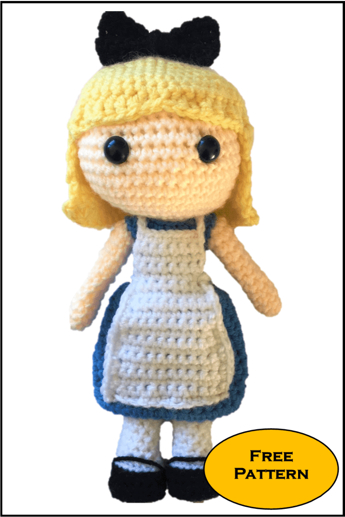 Free Alice In Wonderland Amigurumi Pattern Crochet Daisy And Storm