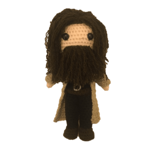 Hagrid Free Amigurumi Crochet Pattern Harry Potter