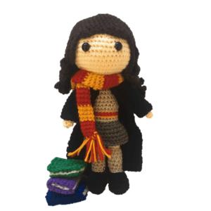 Hermione Granger Amigurumi Pattern