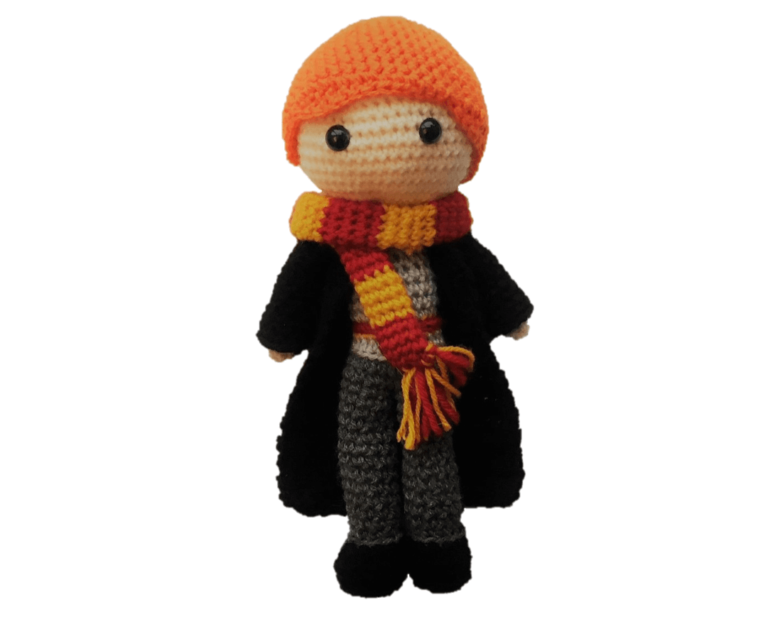 Harry Potter Amigurumi Crochet - Tutorial - YouTube | 883x1098
