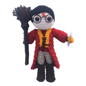 Free Mini Harry Potter Quidditch Amigurumi Pattern (1)
