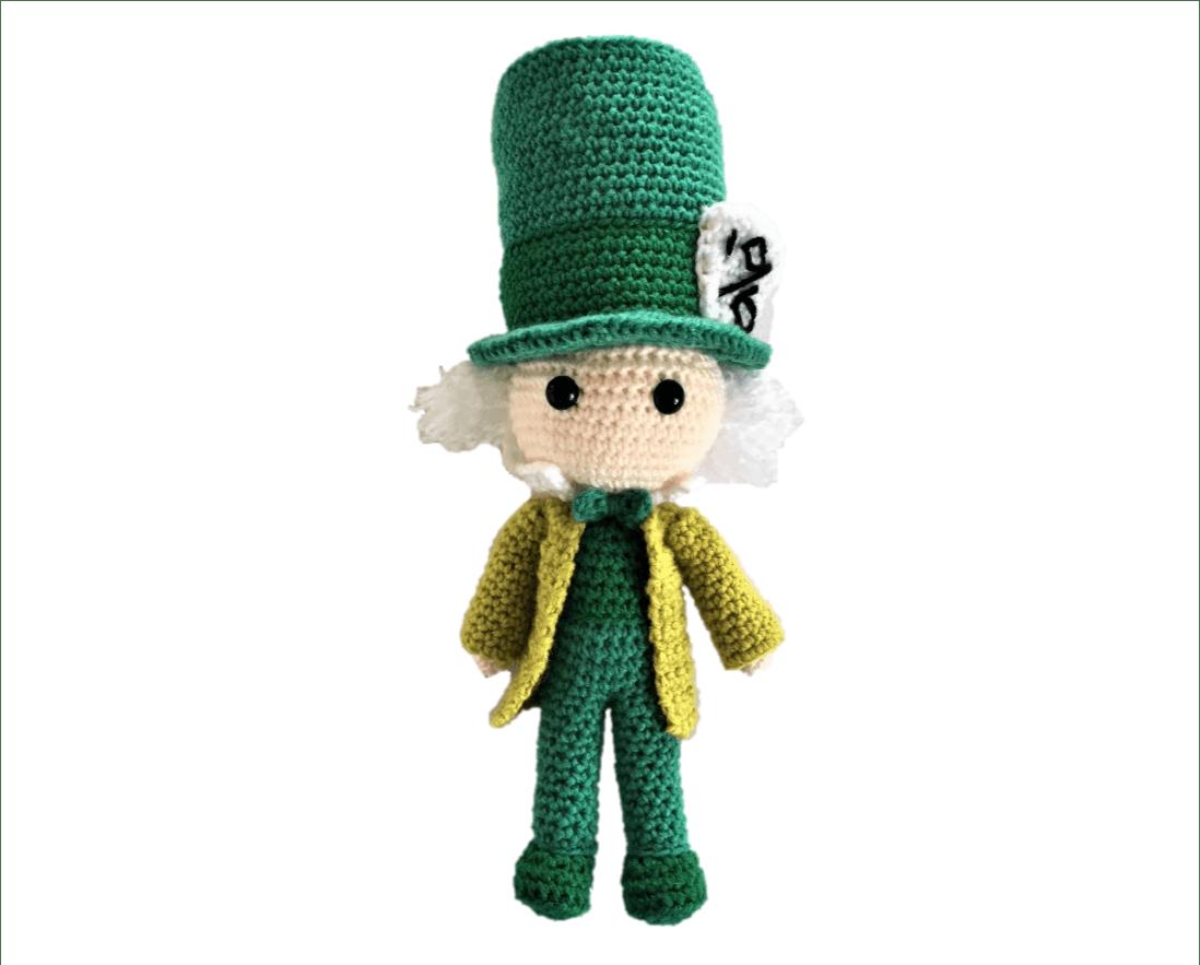 Free Mad Hatter Amigurumi Pattern (Crochet) - Alice in Wonderland